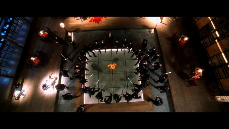 tarantino overhead symmetry