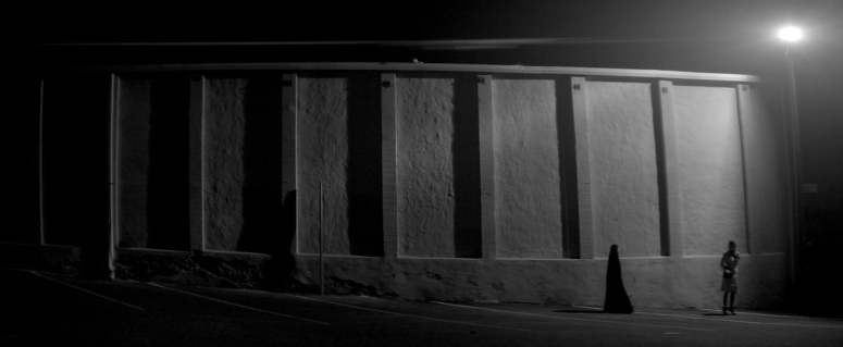 a girl walks home alone at night 2