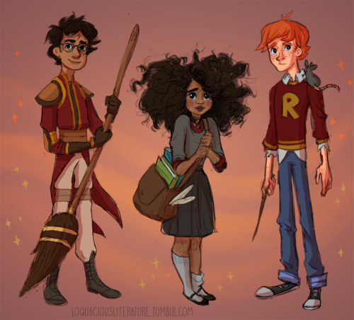 harry potter lineup