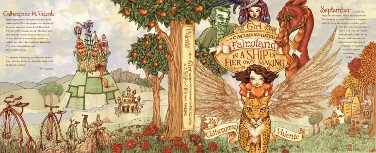 the girl who circumnaviagted fairyland in a ship of her own making