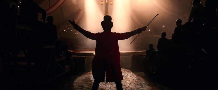 the greatest showman silhouette